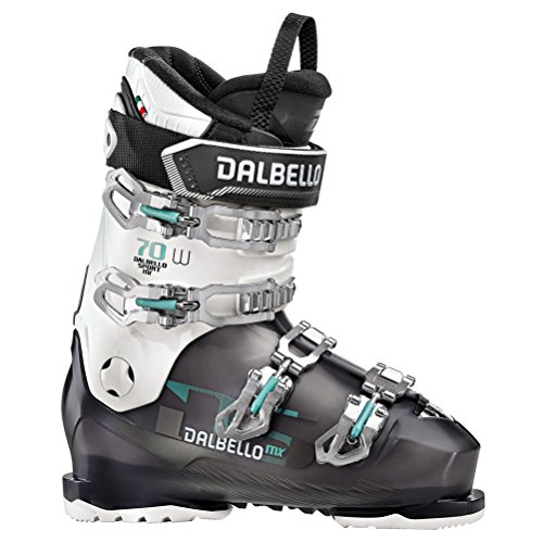 40 Womens Alpine Ski Boots - Dalbello DS MX 70 W Womens Ski Boots 2020-27.5/Black Transparent-White