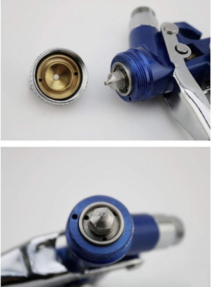 Nozzlediameter DX Pistolet /à air /à Alimentation par gravit/é 1,0 Mini H-20 respectueux de lenvironnement avec buse de 0,8 mm et arrosoir de 125 ML pour la Finition