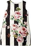 Dolce & Gabbana Kids Baby Girl's Sleeveless Dress (Toddler/Little Kids) Stripe Rose 3T