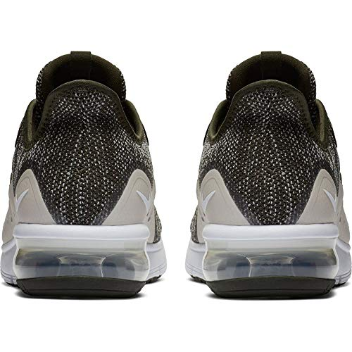 Nike Air Max Sequent 3 Mens Running Trainers 921694 Sneakers Shoes (UK 6 US 7 EU 40, Sequoia Summit White 300) by Nike (Image #1)