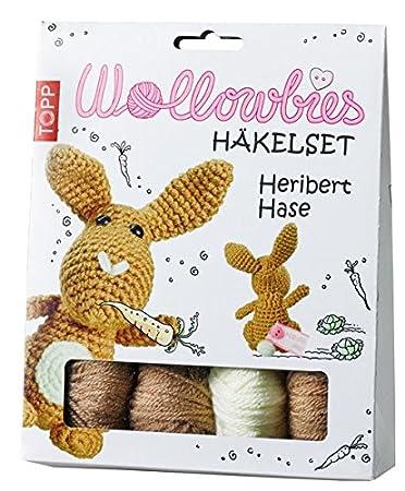 Wollowbies Häkelset Heribert Hase Anleitung Steckbrief Und