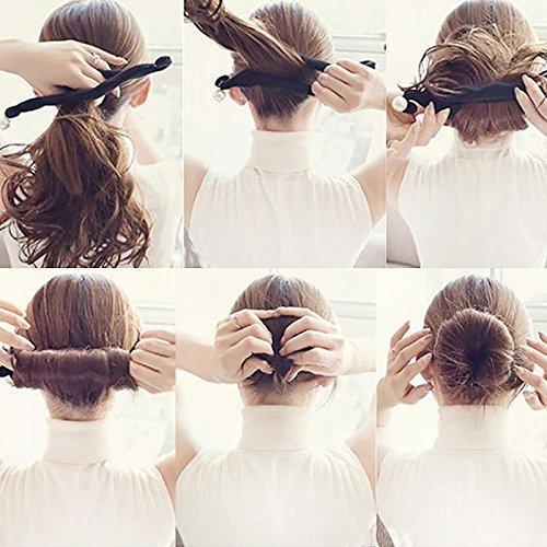 [해외]단 헤어 어레인지 헤어 어레인지 헤어 메이커 헤어 액세서리 용품 스폰지 시 니 용 아가씨 바람 헤어스타일 사용 간단 블랙 / Dumpling Hair Arrangement Hair Arrangement Hair Accessories Toy Sponge Sinyon Young Lady Style Hairstyle Easy To ...