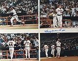 Reggie Jackson Signed Authentic Autographed 16x20 Photo (Mounted Memories)