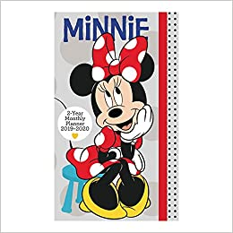 minnie mouse pocket planner 2 year 2019