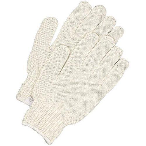 Medium Bob Dale 10-9-78-M Poly//Cotton String Knit Glove Pack of 12 White