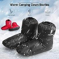 Tentock Mujer/Hombre Abajo Zapatillas Calcetines Botas de Invierno ...