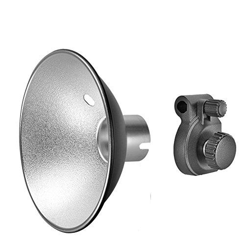 Godox AD-S6 Portable Umbrella-type Reflector For Witstro AD180 AD360(Silver+Black)