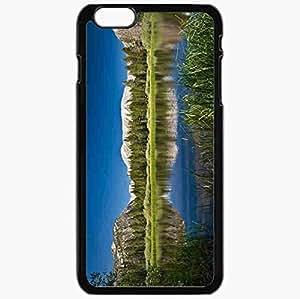 Unique Design Fashion Protective Back Cover For iPhone 6 Plus Case Slim (5.5 inch) Beautiful Nature Pictures Nature Black