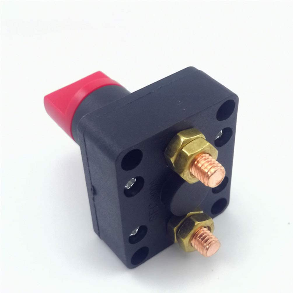 BESPORTBLE Battery Switch Battery Disconnect Master Cutoff Switch Heavy Duty Battery Isolator Switch for Car Vehicle Marine Boat 150A 60V