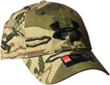 Under Armour Men's Camo 2.0 Cap, Ridge Reaper Camo Ba /Black, One Size