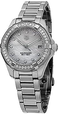 Tag Heuer Aquaracer 300M Women's Diamond Watch - WAY1314.BA0915 by TAG Heuer