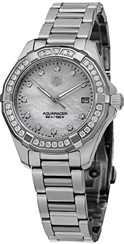 Tag Heuer Aquaracer 300M Women's Diamond Watch - WAY1314.BA0915 by TAG Heuer
