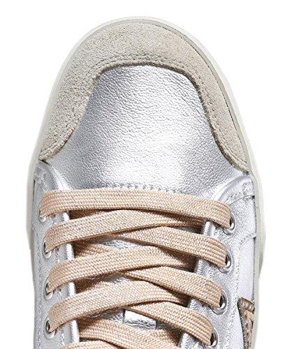 Metal Silver Ash ASH Star Silver Womens Trainers Beige Magic nqqHYgZE