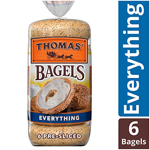 Thomas Everything Bagels, 6 Count in 1 pack