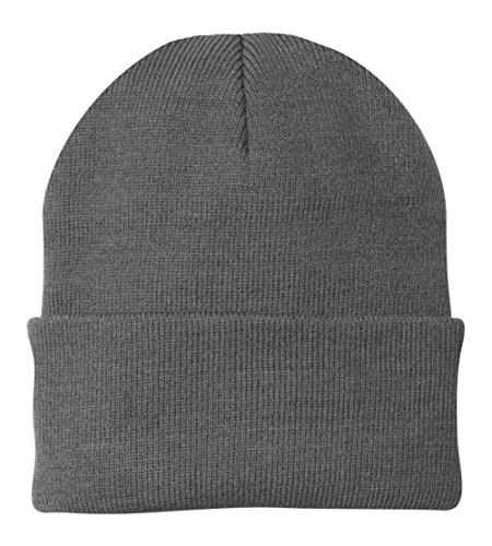(Port & Company - Knit Cap. CP90 - Athletic Oxford)