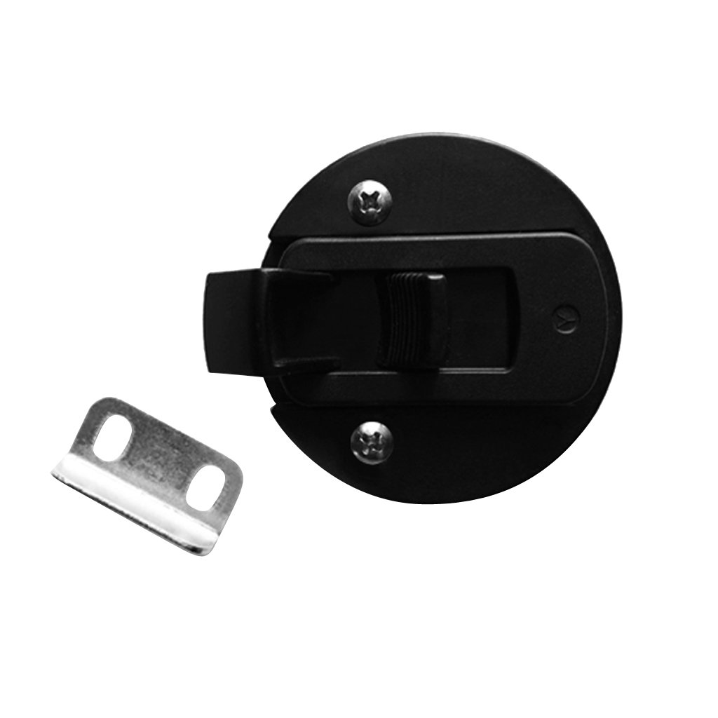 """2/"""" Round Flush Pull Slam Latches with Keys 1//4/"""" Door for Marine Boat Deck Hatch"""