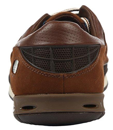 Clarks Orson Lace - Botas de deporte para hombre Marrón (Dark Brown Lea)