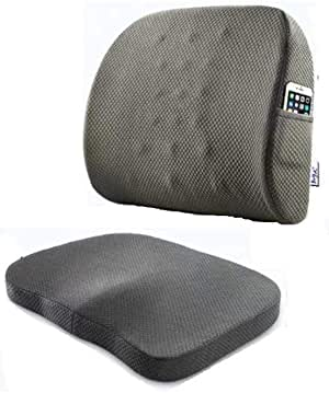 Back and seat support cushion