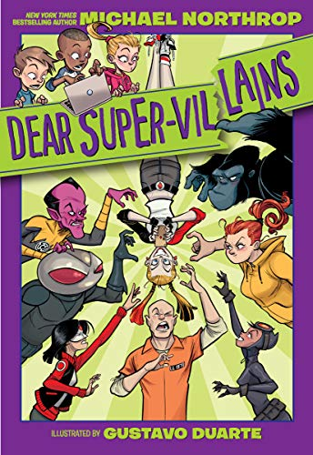 Book Cover: Dear DC Super-Villains