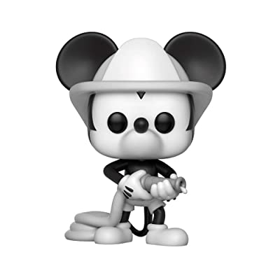 Funko Pop Disney: Mickey's 90Th - Firefighter Mickey Collectible Figure, Multicolor: Toys & Games