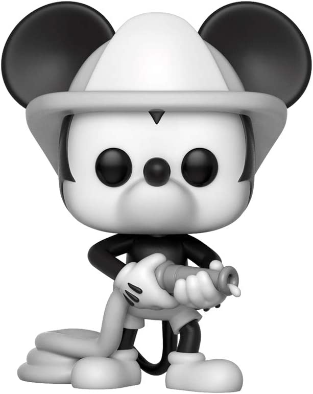 Pop! Disney Mickey 90 Years - Figura de Vinilo Firefighter Mickey