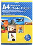 5-Pack Magnetic Photo Paper Case Pack 4 Computers, Electronics, Office Supplies, Computing