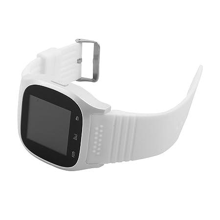 Amazon.com: eDealMax Llamadas Deporte al aire Libre M26 de sincronización del teléfono inteligente Anti-perdida Blanco del reloj de Los teléfonos ...