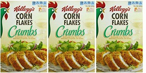 (Kellogg's, Corn Flake Crumbs, 21oz Box (Pack of 3))