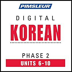 Korean Phase 2, Unit 06-10