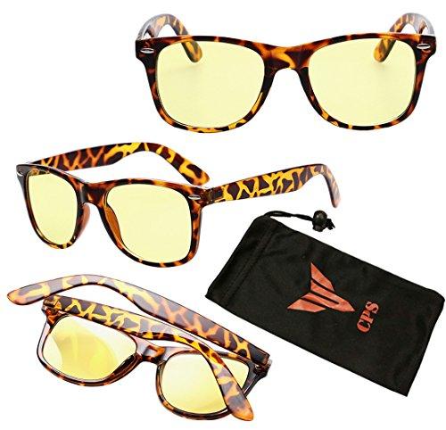 Men Women Vision Care Anti-Stress Radiation Protection Wayfarer Reading Glasses TV Computer Eyewear (Color: Tortoise - Rare Bans Ray