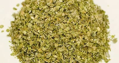 Marjoram, Whole Dried and Chopped , Herb, Organic , NON- GMO, 4 oz package .