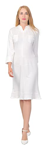 Marycrafts Women's Casual Office Work Business Dress Sheath Dresses