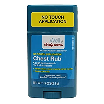 Amazon com: Walgreens Chest Rub Vapo Stick (1 5 oz): Health