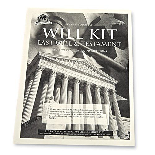 Legal Do It Yourself Will & Testament Kit