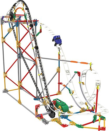 K'NEX Blizzard Blast Roller Coaster Building Set from K'NEX