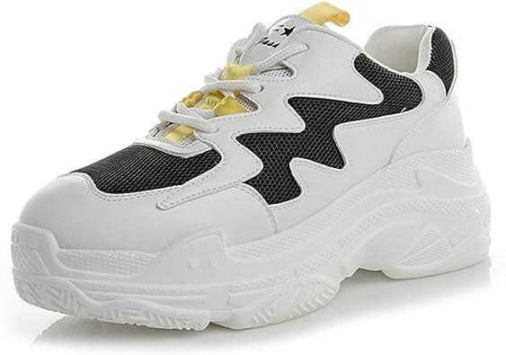 Zapatos De Mujer Zapatillas Zapatos De Plataforma con Cordones ...