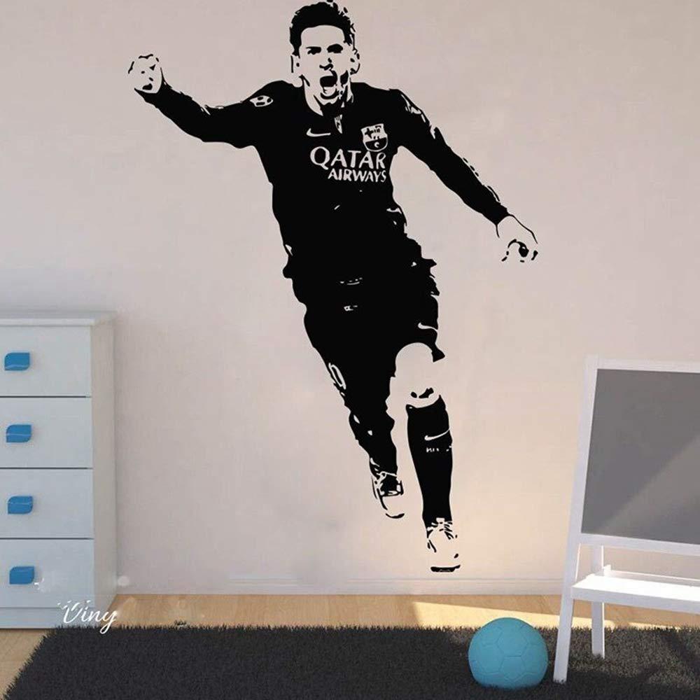 pegatina de pared 3d etiqueta de la pared Lionel Messi Vinilo ...