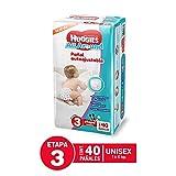 Huggies Pañales All Around, Unisex, Etapa 3, 40 Piezas