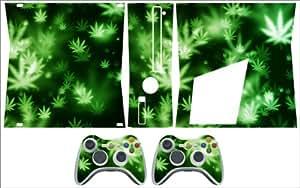 Xbox 360 Slim Skin Weed 3