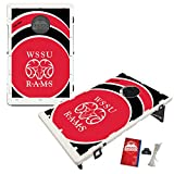 Winston Salem State University Rams Baggo Bean Bag Toss Cornhole Game Vortex Design