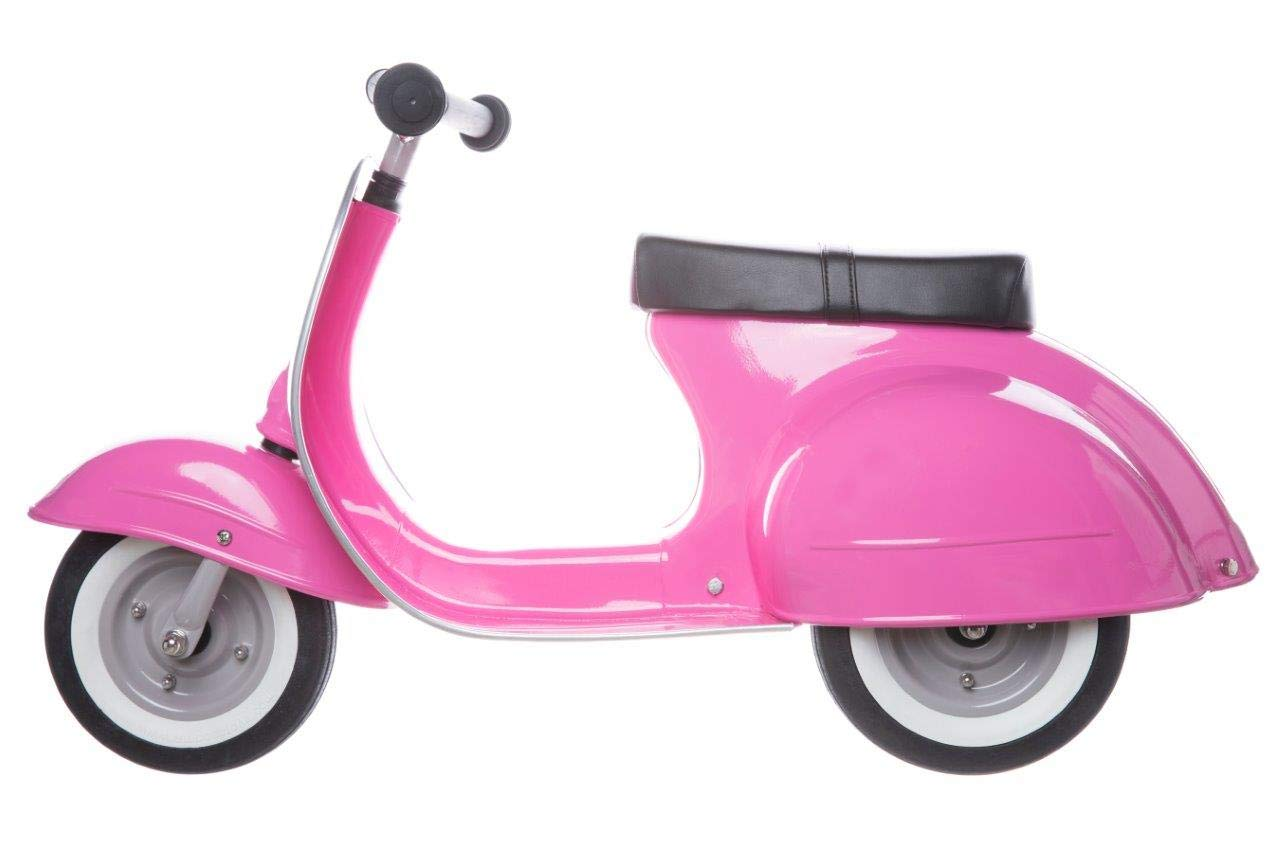 Ambosstoys Toddler Scooters for Boys and Girls Primo - Durable, Valuable and Timeless Design Kids Ride on Toys for 1 Year Old - 2 - 3 - 5 Year Olds, Collectors and Design Lovers. (Pink) by AMBOSSTOYS LLC