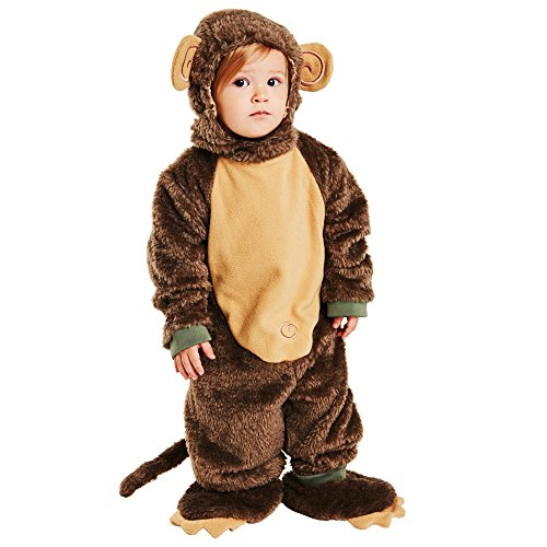 Baby Lil Monkey Costume Size: Infant 18M -