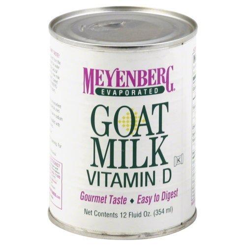 Meyenberg Goat Milk, Evaporated Goat Milk, Vitamin D, 12 fl oz (354 ml) by Meyenberg Goat Milk