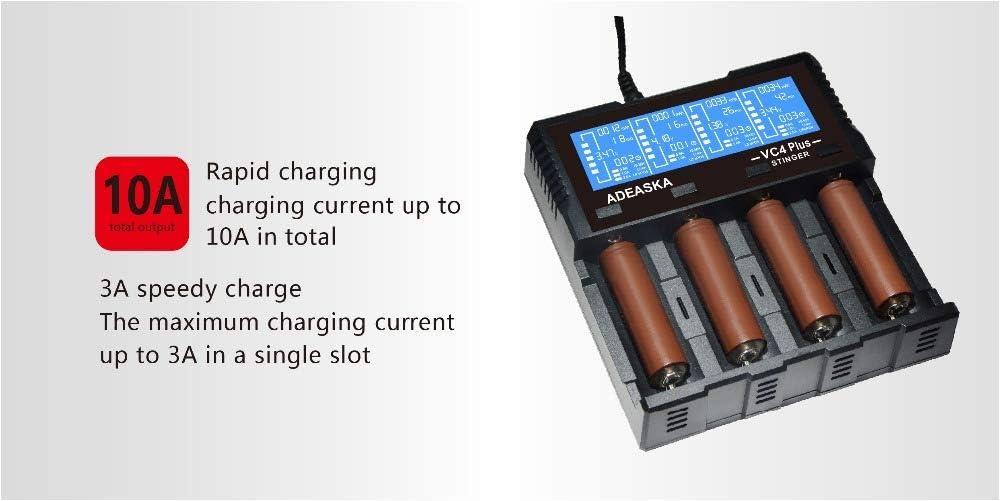 Pilas y cargadores Cargador USB Inteligente para batera Li-ion ...