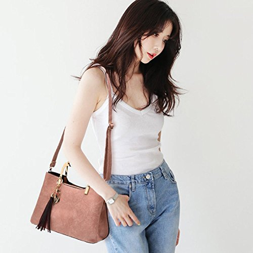 Woman Eysee Leather Leather Bag Eysee Pink PX0zX8r