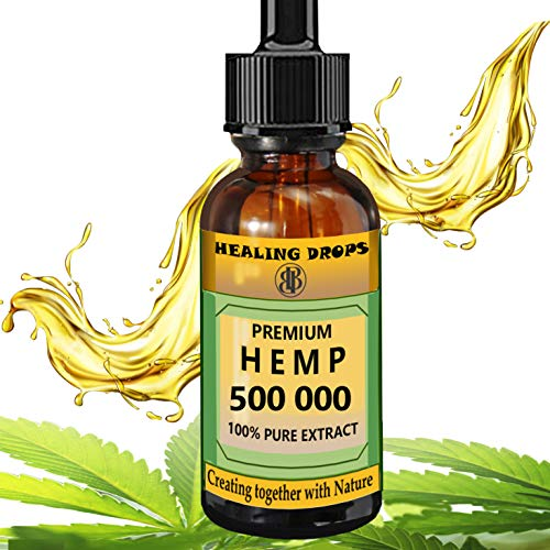 Hemp-Oil-500-000-mg-100-Natural-Extract-Supports-Anti-Anxiety-and-Stress-Natural-Health-Organic-Dietary-Supplement-Rich-in-Omega-3-6-9-Fatty-Acids-for-Skin-Heart-Immune-Support