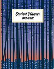 Student Planner 2021-2022: Weekly and Monthly Agenda Calendar | 2021 -2022 Planner with Check Boxes, To-Do List, Perfect for Planning Your Life or as Gift
