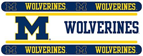 NCAA Michigan Wolverines Wall Border (Michigan Wolverines Ncaa Peel)