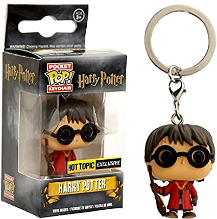 Funko - Figurine Harry Potter - Harry Potter Quidditch Exclu Pocket Pop 4cm - 0849803076054