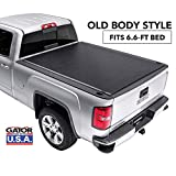 Gator ETX Soft Roll Up Truck Bed Tonneau Cover | 53104 | fits 99-07 GM Silverado Sierra - 6.6' Bed | Made in the USA
